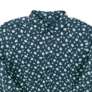 NWT Brooks Brothers  Floral Pima Cotton Shirt